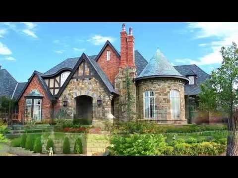 ОТДЕЛКА ФАСАДОВ частных домов. Интересные варианты