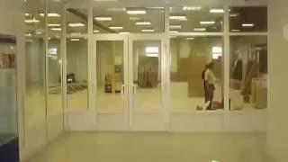 видео Современные офисные и туалетные перегородки