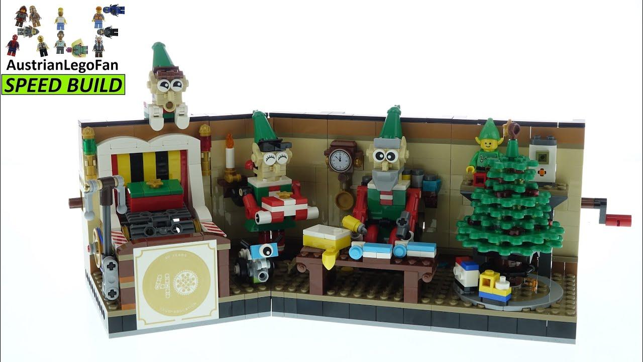 Lego 40 Years Hands On Learning Employee Christmas Gift 2020 Lego 4002020 Speed Build Youtube