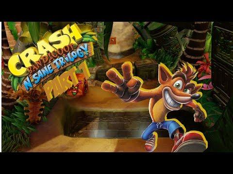 Crash Bandicoot N. Sane Trilogy - Part 1 [Commentary]
