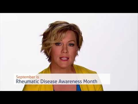 A Message from Actress Jennie Garth – September is Rheumatic Disease Awareness Month (30-Second PSA)