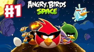 Angry Birds Space - Gameplay Walkthrough Part 1 - Pig Bang Level Teaser