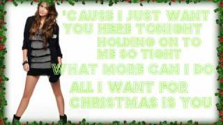 Download Miley Cyrus - All I Want For Christmas Is You - With Lyrics + Download MP3 song and Music Video
