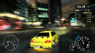 Need for Speed: Underground 2 (PS2 Gameplay)