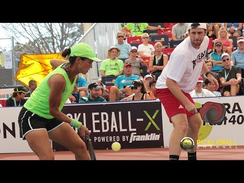 Intense Mixed Doubles 25+ Gold Medal Match from the Minto US Open Pickleball Championships