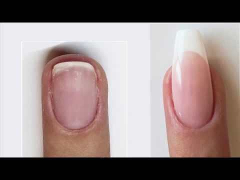 Supreme French with Nail Bed Extension and Extended Free Edge | Bio Sculpture Gel