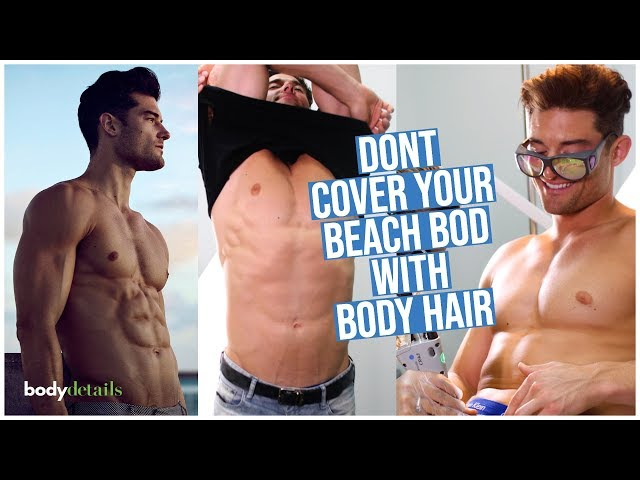 Laser Hair Removal for Men in Miami | Buster Battreall | Body Details