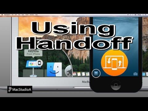 Using Handoff in iOS 8 and OS X Yosemite