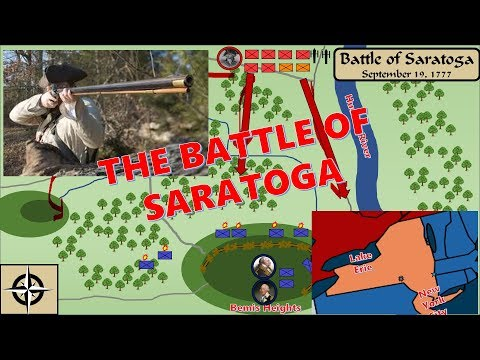 A Nation Is Born: The Battle Of Saratoga
