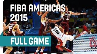 Canada v Venezuela - Semi-Final - Full Game - 2015 Fiba Americas Championship
