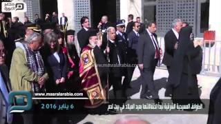 مصر العربية | الطوائف المسيحية الشرقية تبدأ احتفالاتها بعيد الميلاد في مدينة بيت لحم