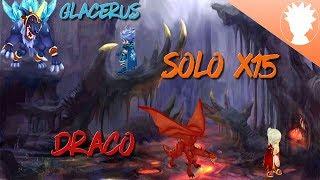 Nostale - Solo glacerus/draco : 4mn30 (14 mules)