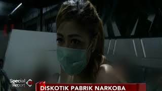 Wow!! DJ Cantik Ini Sebut Sabu Cair Diskotik MG Rasa Air Mineral - Special Report 18/12