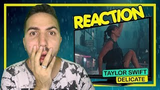 REACTION || Taylor Swift - Delicate (Music Video) Video