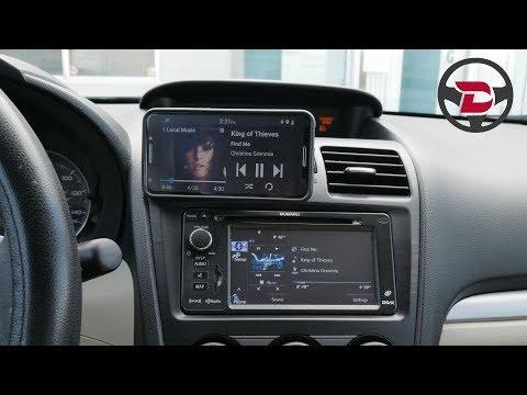 Driving With Dashlinq Car Mode Dashboard App - Subaru