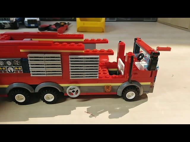 Lego Feuerwehr mit Light and Sound umbauen