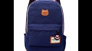 Обзор рюкзака Котик с ушками Обзор рюкзака Котик с ушками