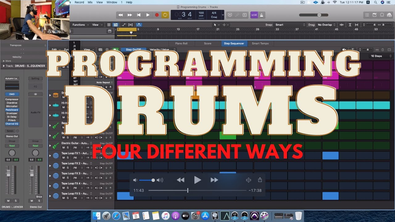 HOW TO PROGRAM DRUMS - 4 DIFFERENT WAYS