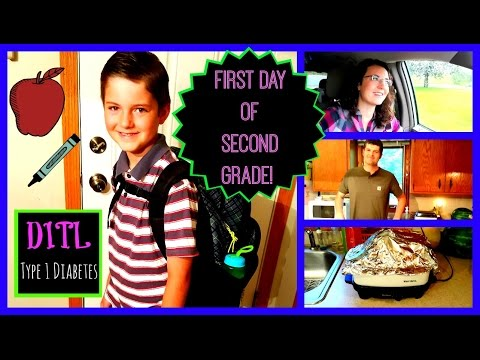 First Day Second Grade | Type 1 Diabetes