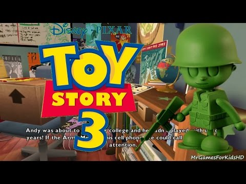 Toy Story 3 Army Guys Operation Phone Call Walkthrough Part 2 Kids Entertainment