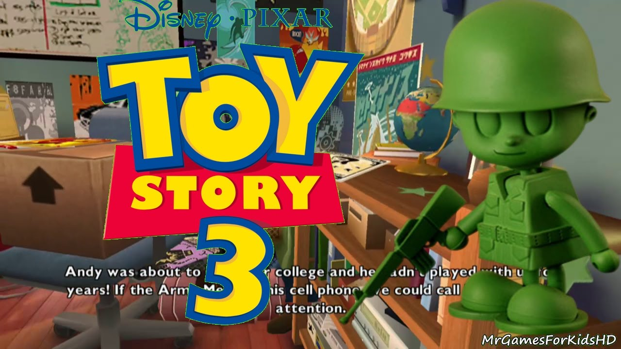 Toy Story 3 Train Games : Toy story army guys operation phone call walkthrough