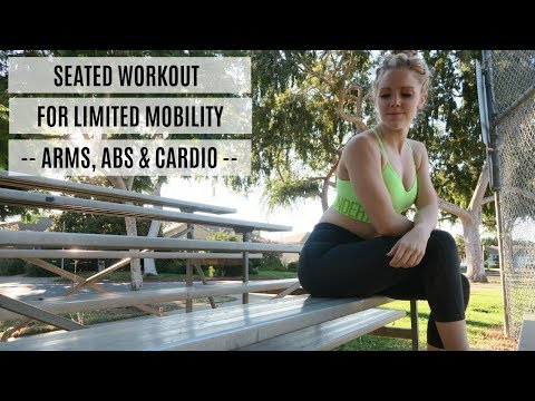 Seated Workout For The Office or Limited Mobility | MFit