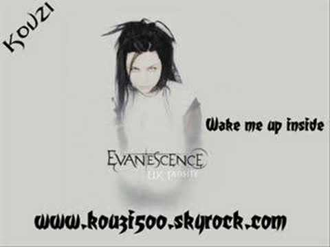 Evanescence  Wake me up inside