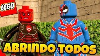 LEGO Marvel Super Heroes 2 - ABRINDO TODOS OS PERSONAGENS QUE TEMOS AT AGORA parte 2