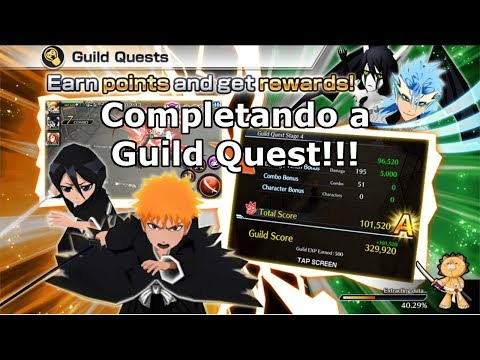 Bleach Brave Souls: Completando Guild Quest Round 2 - Omega Play