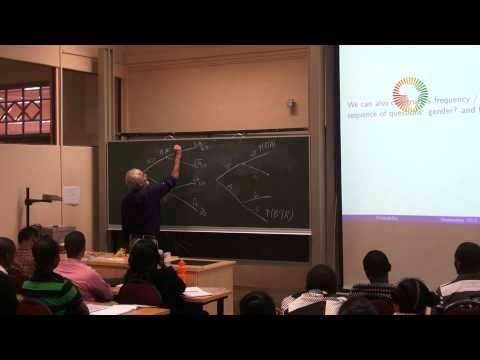 DAY1/14 Probability & Statistics with Prof David Spiegelhalter