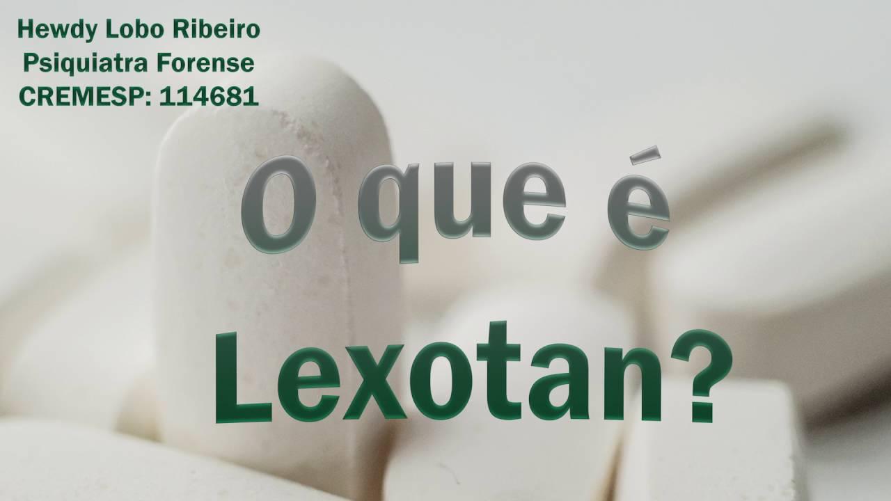 lexatin 3 mg para que sirve