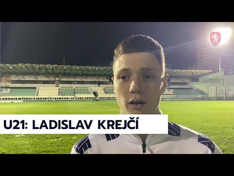 ČR U21   Ladislav Krejčí po výhře v Řecku