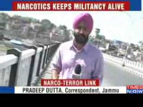 J K  Militancy thrives on narcotics smuggling   Video   The Times of India