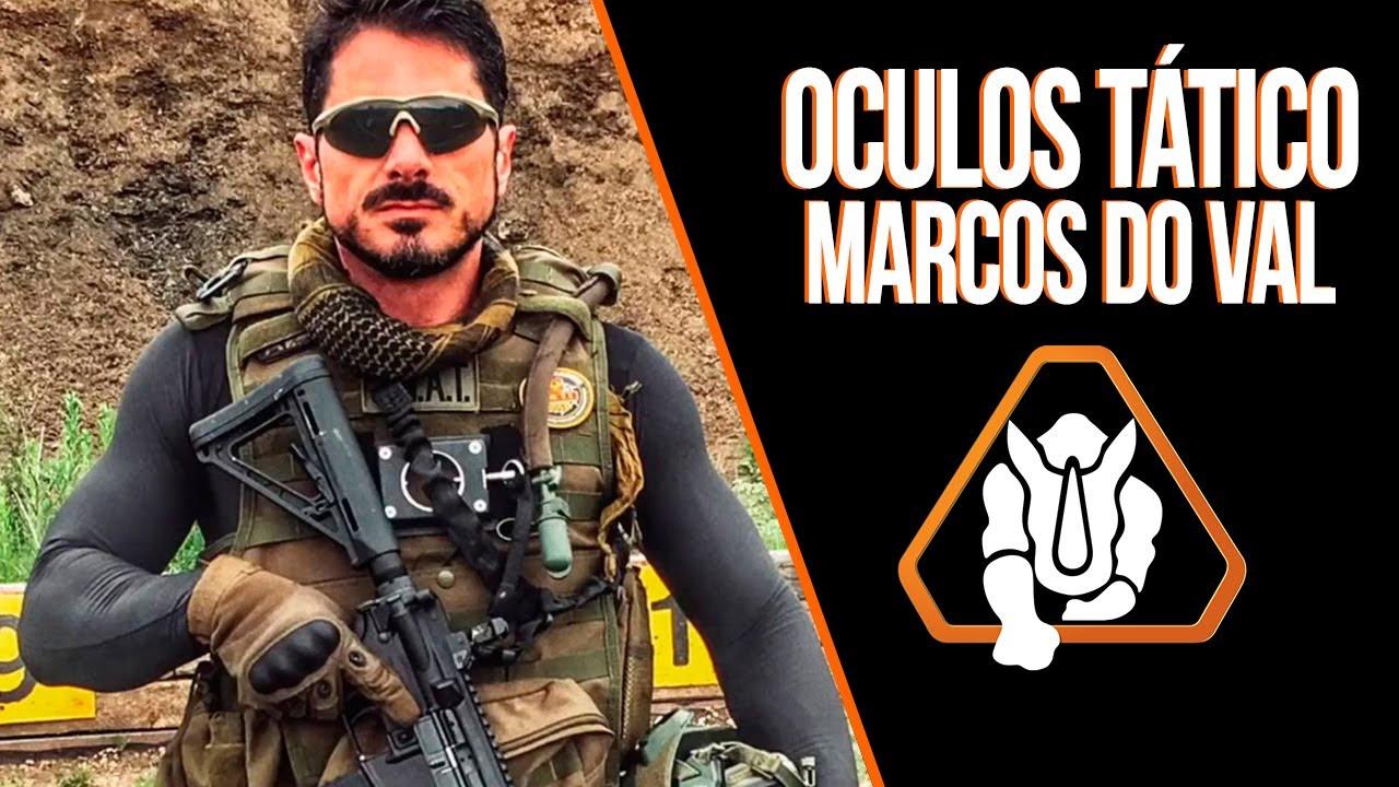 e337fd8793 Teste de qualidade Óculos tático Marcos do Val - YouTube