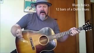 Darren Watson | FULL FREE BLUES GUITAR LESSON | Delta Blues Fingerstyle Lesson PART ONE