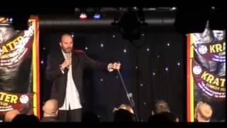 Comedian Dan Evans at the Komedia Brighton Short