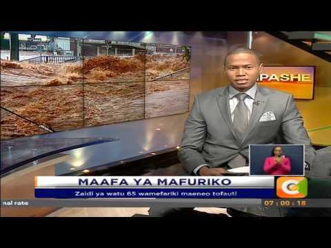 Zaidi ya watu 65 wamefariki maeneo tofauti kutokana na athari ya Mvua