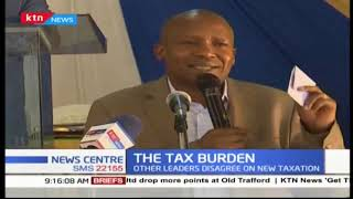 ODM leader Raila Odinga defends his party's support for the new tax measures