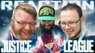 Justice League - Official Heroes Trailer REACTION LIVE @ NYCC!!