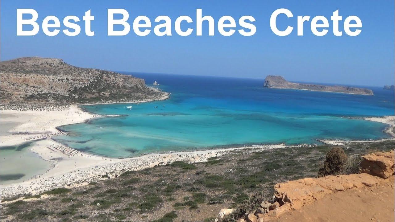 Top Crete Beaches Greece Best Beach Crete Kreta