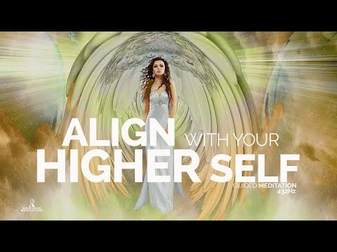 Guided Meditation ALIGN with your HIGHER SELF (HEALING VICTIMS OF ABUSE, Loving Yourself)ASMR