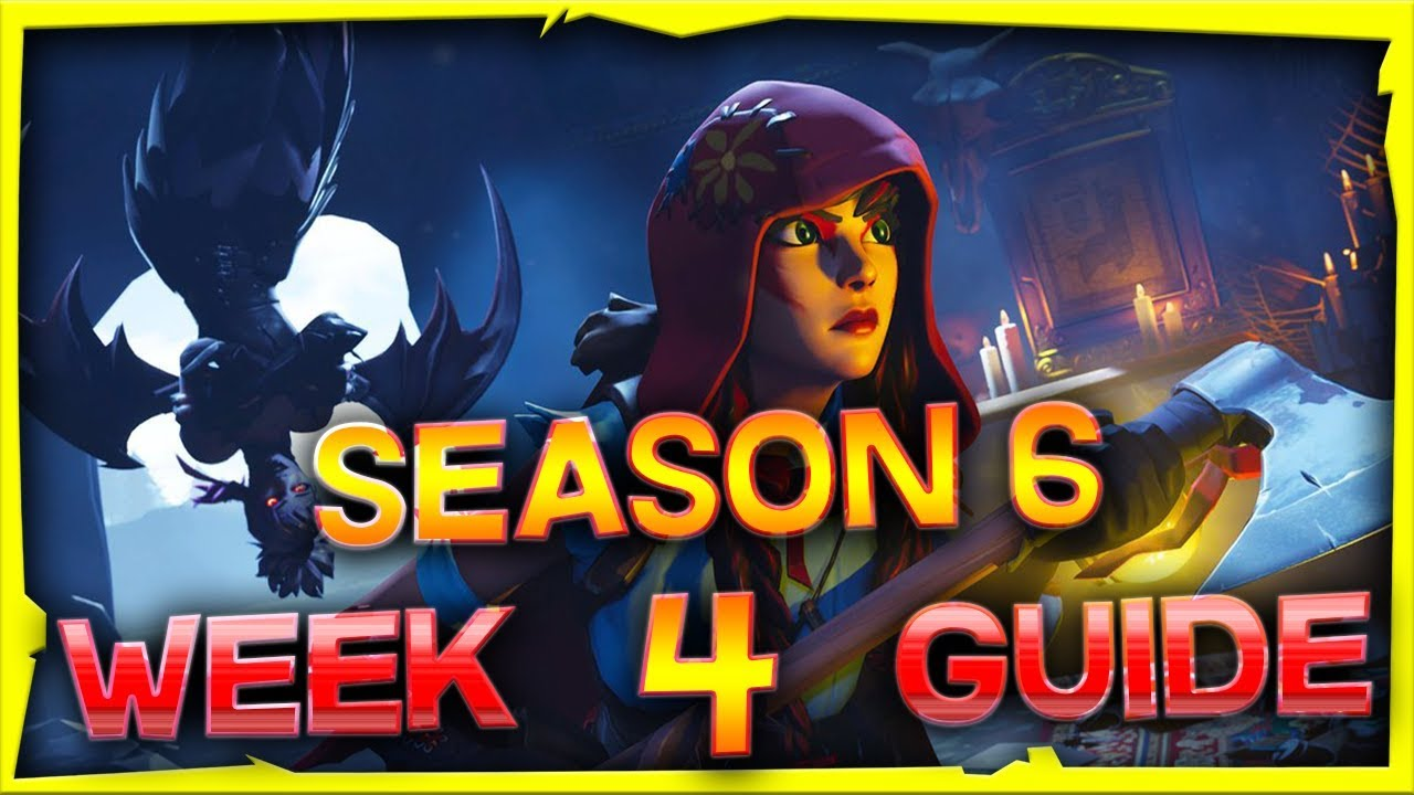 Fortnite Season 6 Week 4 Challenges Guide And Locations Youtube