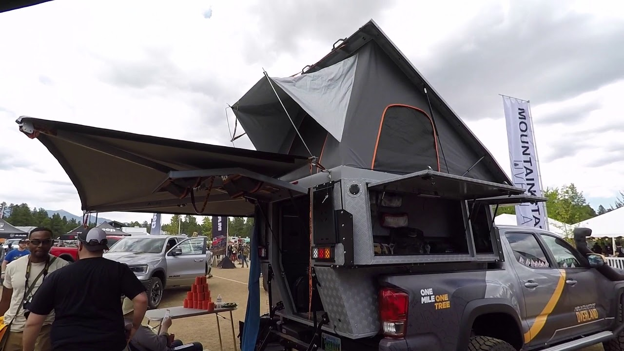A quick look at the KHAYA camper by Alu-Cab and their other products -  Overland Expo 2018