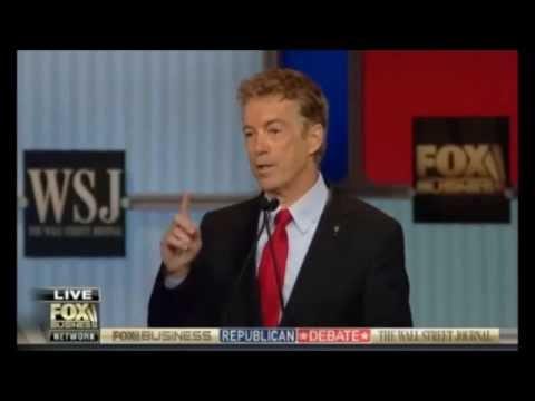 ALL Rand Paul moments GOP Republican debate 10 NOV. 2015