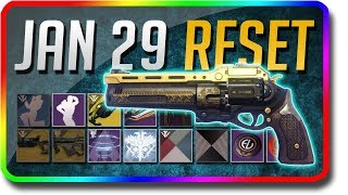 Destiny 2 - Last Word Weekly Reset! (January 29 Black Armory Weekly Reset, Powerful Gear)