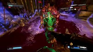 Doom: All Glory Kills, Including Chainsaw! (Multi-Player)