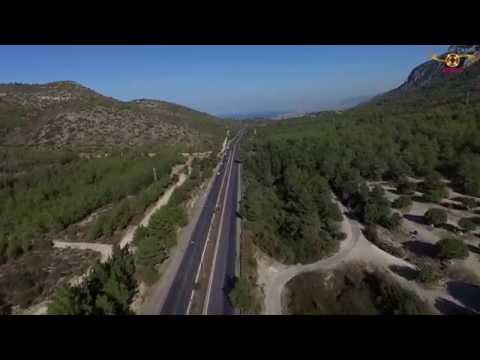 Girne Yolu/ Boğaz Havadan Çekim / KKTC
