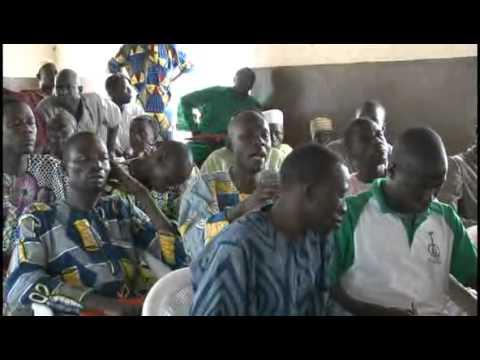 Projet SETUP au Bénin (GERES) - Concertation autour du jatropha
