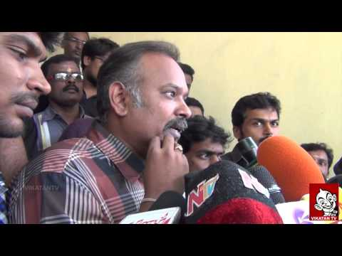 Biriyani Team Complaint on Song Leaked |Venkat Prabhu, Karthi,Yuvan & Premji | Vikatan TV