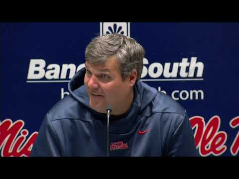 Football - Matt Luke Press Conference Post-South Carolina